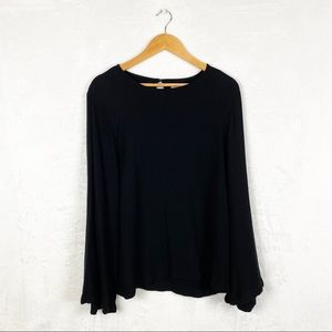 Anthropologie Cloth and Stone Black Blouse